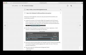 Reinzeichnung-Druckvorstufe-InDesign-Online Technische Grundlagen Details 1