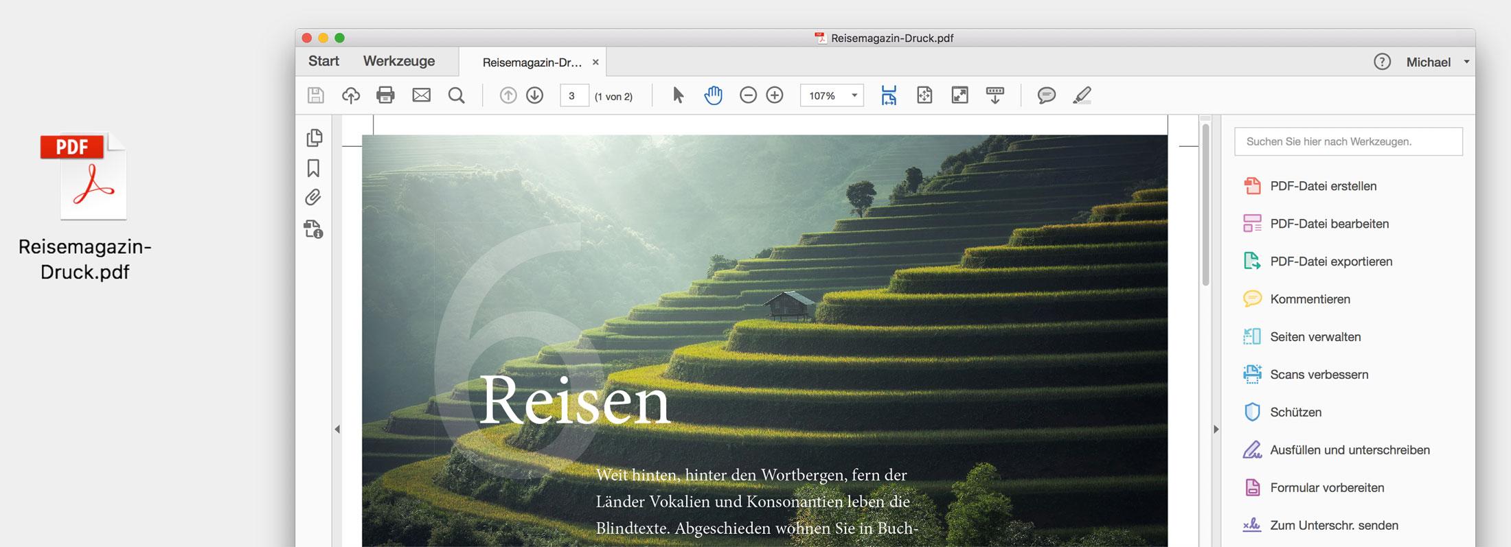 Druck-PDF schreiben in InDesign